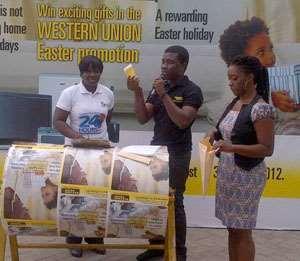 Western Union raffle draw