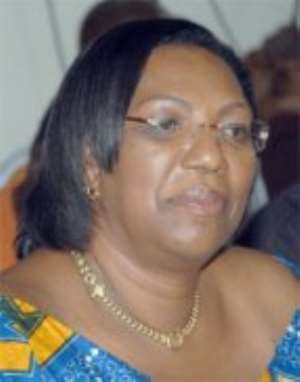 Attorney-General and Minister of Justice, Mrs Betty Mould-Iddrisu