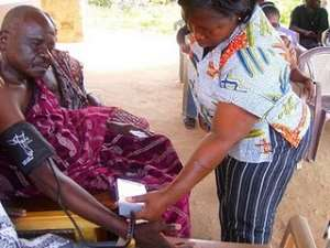 VPWA offer support to needy clinic in rural Ghana