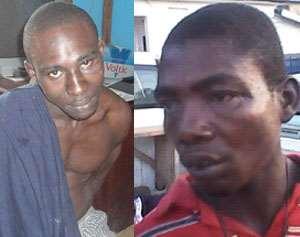 Osei Kwabena and Atsu Hodukor