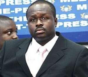 Mr Edward Omane Boamah, Minister of Communication