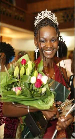 Miss East Africa UK - Maureen Nyakaira