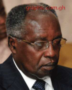 Prof Addae Mensah - Chairman of Petroleum Commission