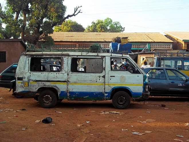 A Bush Taxi in Guinea