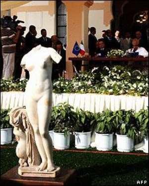 Venus of Cyrene, Libya.