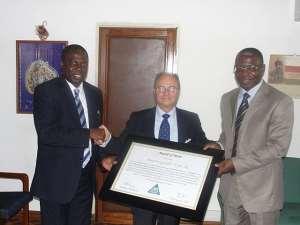 VRA honours Italy, contractors of Akosombo, Kpong dams
