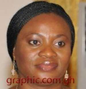 Mrs Charlotte Osei - NCCE Boss