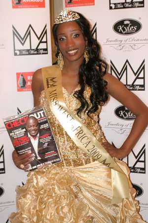 SHIREEN BENJAMIN; A NEW MISS WEST AFRICA HAS ARRIVED...