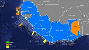 Oil deposits in the West African coast has existed for decades