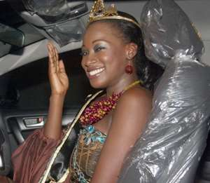 Ama Nettey, Miss Malaika 2010