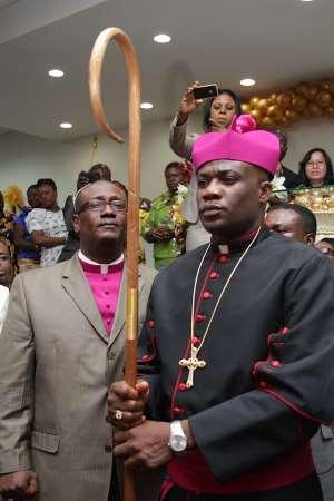 Apostle Kofi Adonteng Boateng Ordained Bishop
