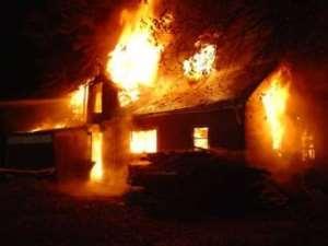 Bolga Fire Destroyed Shops