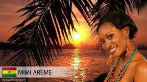 Miss Ghana Rep To The Miss World Mimi Areme Back In Style