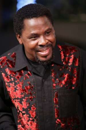 'I Have No Money In My Account' - TB Joshua