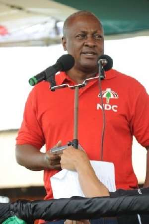Prez Mahama Lacks The Nerve To Fight Corruption