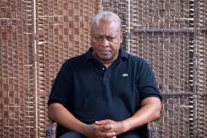 The strange behavior of former President John Dramani Mahama