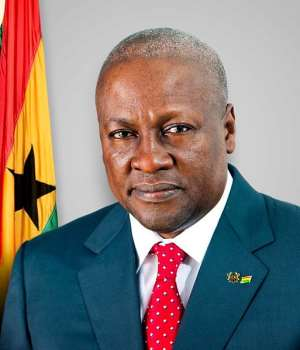 Mahama In Sierra Leone On Commonwealth Observer Mission