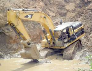 Should The Use Of Excavators Not Be Banned In The Small And Medium-Scale Gold Mining Sectors?
