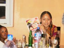 Japan Embassy Holds Japanese Dinner For News Editors