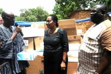 First Lady Lordina Mahama's Donation In Tamale