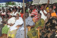 First Lady Campaign at Techiman, Tuobodom and Tanoso