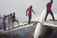 PHOTONEWS: SR Exclusive Photos Of DANA Airline Crash Site In Lagos
