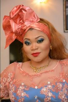 Monalisa Chinda, Julius Agwu Storm Actress Lisa Omorodion's Mum's 60th Birthday