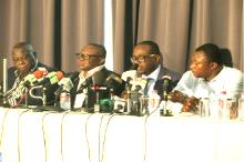 GFA Meets Press After Poor Show In Brazil 2014 World Cup
