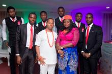 MC Godson & Crew Storm Eket At Amaecom's Child Dedication