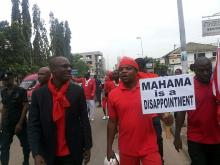 One-Man Demo  - PREZ MAHAMA IS A DISAPPOINTMENT