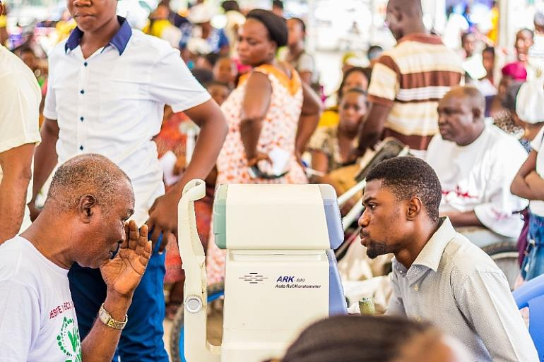 Bishop Agyinasare Throws Big Feast For The Poor