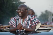 BAWUMIA ARRIVES IN WA TO GREAT WELCOME