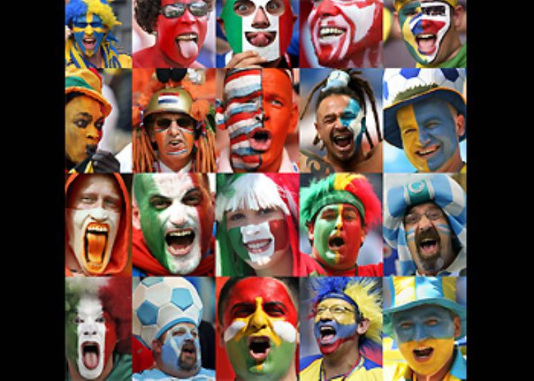 The 2006 World Cup has proved to be one of the most colourful ever. Click through this gallery to see supporters