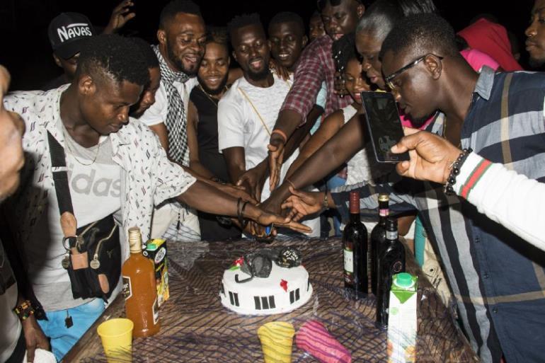 Kabir Tempo Crazy Dance Video Launch And Birthday Party @villa Posslipo