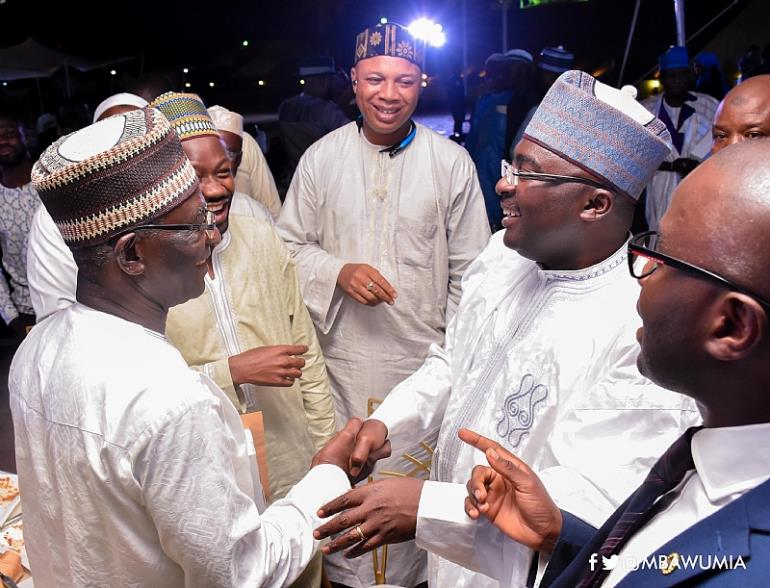 Vice President Dr Mahamudu Bawumia At The First Ever Public IFTAR, The Breaking Of The Ramadan Fast, At The Forecourt Of The Flagstaff House, On Wednesday June 14, 2017