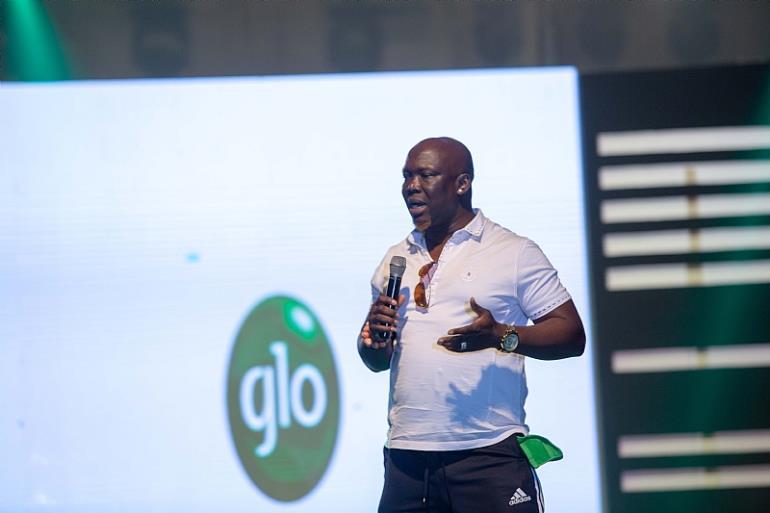 Comedian Bovi, Salvador, Basket Mouth Light Up Glo Lafftafest In Accra