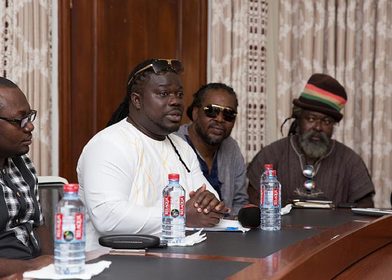 Musiga Pays Courtesy Call On Zylofon Media