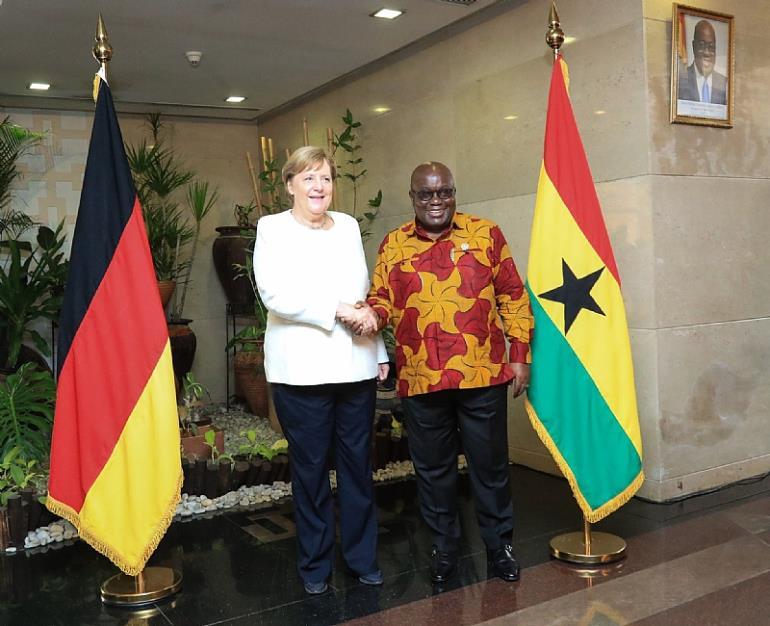 Visit Of German Chancellor, Angela Merkel