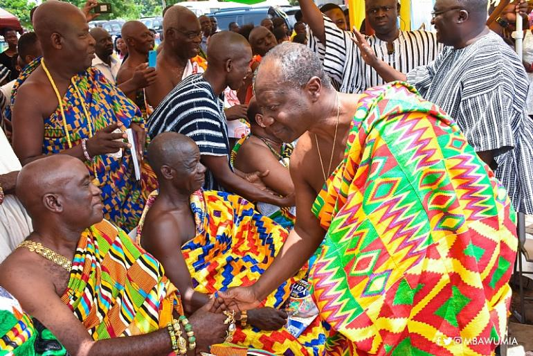 Vice President Bawumia At The 2017 Yam Festival Of Asogli State
