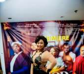 : Budding Actress Rabby Bray Stuns At If God Be For Us Movie Premiere