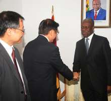 Japanese Ambassador Calls On Veep