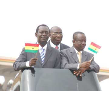 Following The President, Are Minister Of Defence, Minister Of Interior And Minister Of Education, Youth and Sports.
