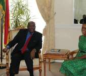 Miss Ghana pays courtesy call on High Commissioner to the UK Victor Smith