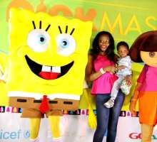 Kids Party With Dora The Explorer And SpongeBob SquarePants To Celebrate Nickmas