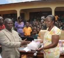 Mrs. Matilda Amissah-Arthur at ketu north district