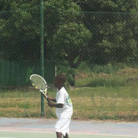 La Constance Tennis Academy Kids at ITF program in Winneba