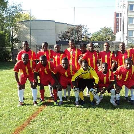 BLACK SPEARS FC.IN GHANA COLOURS