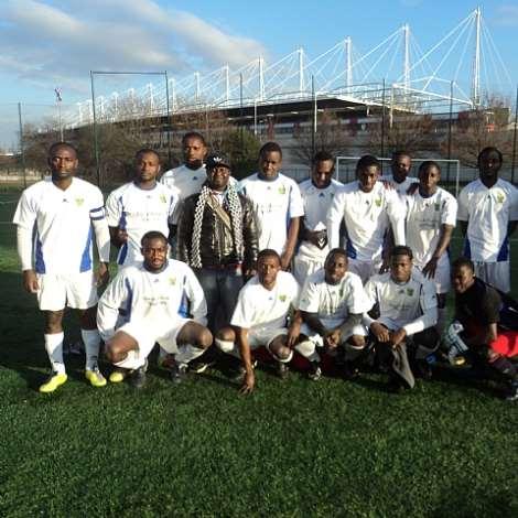 BLACK SPEARS FC.THE DREAM TEAM IN PARIS