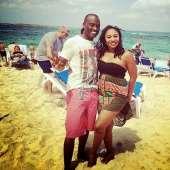 Dayo Adeneye and wife enjoy holiday in Dubai