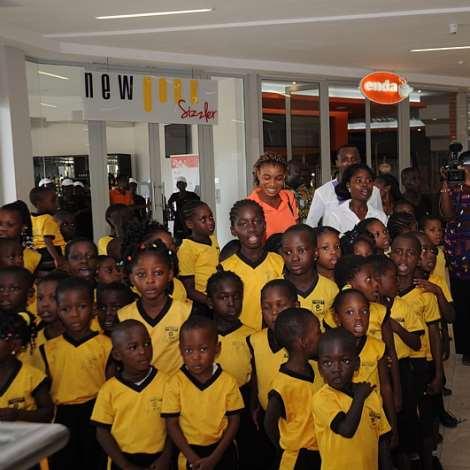 MRS. MATILDA AMISSAH-ARTHUR AT FUN FOR KIDS LAUNCH